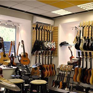 Музыкальные магазины Красной Зари
